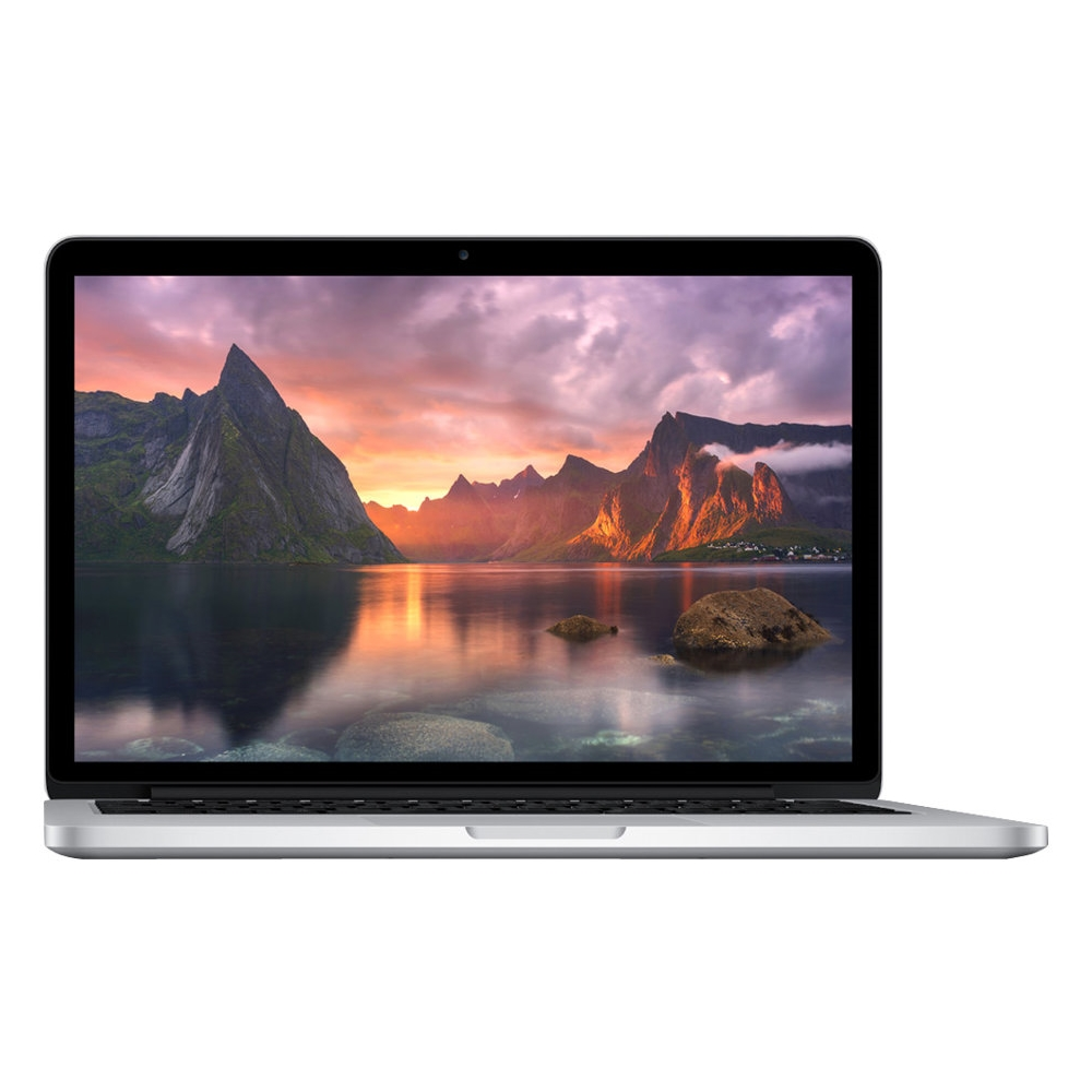 "Front Zoom. Apple - MacBook Pro 15.4"" Pre-owned Laptop - Intel Core i7 - 16GB Memory - 256GB Flash Storage - Silver."