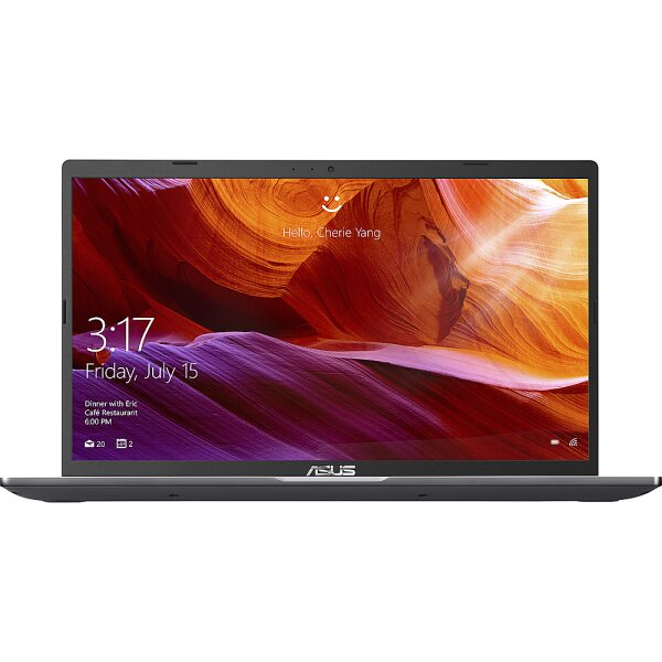 "Front Zoom. Asus 15.6"" Laptop AMD Athlon Silver 3050U 8GB 1TB - Slate Grey."