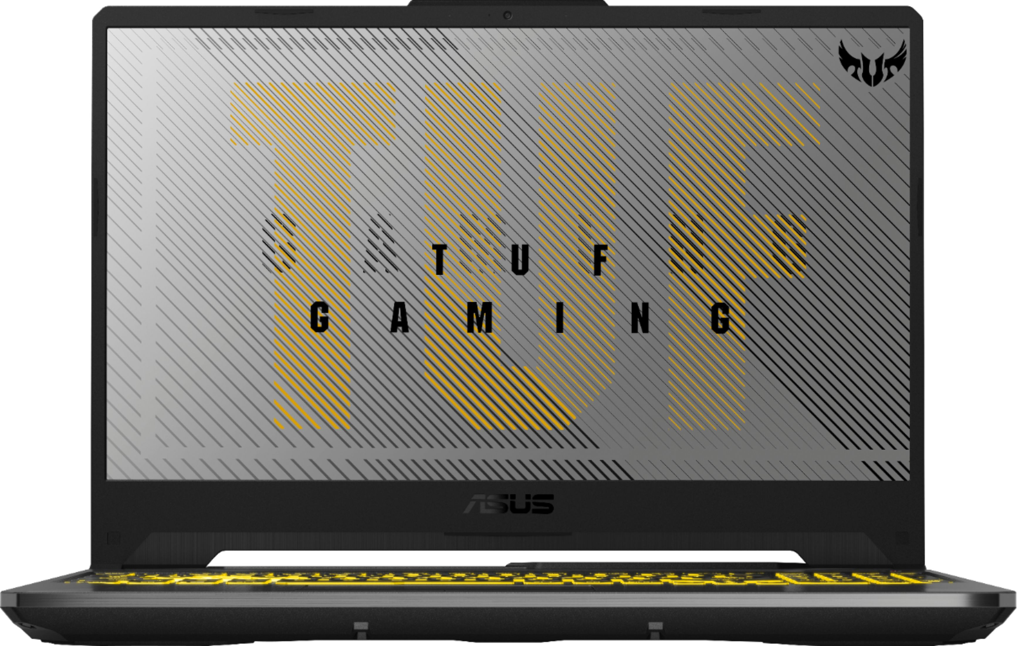 """Front Zoom. Asus TUF A15 TUF506IV-AS76 15.6"""" Gaming Notebook AMD Ryzen 7 4800H 16GB RAM 1TB SSD."""
