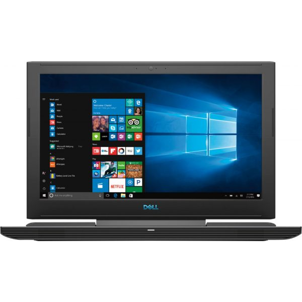 "Dell - Geek Squad Certified Refurbished 15.6"" Laptop - Intel Core i7 - 16GB Memory - NVIDIA GeForce GTX 1060 - 128GB SSD+1TB HD - Licorice Black"