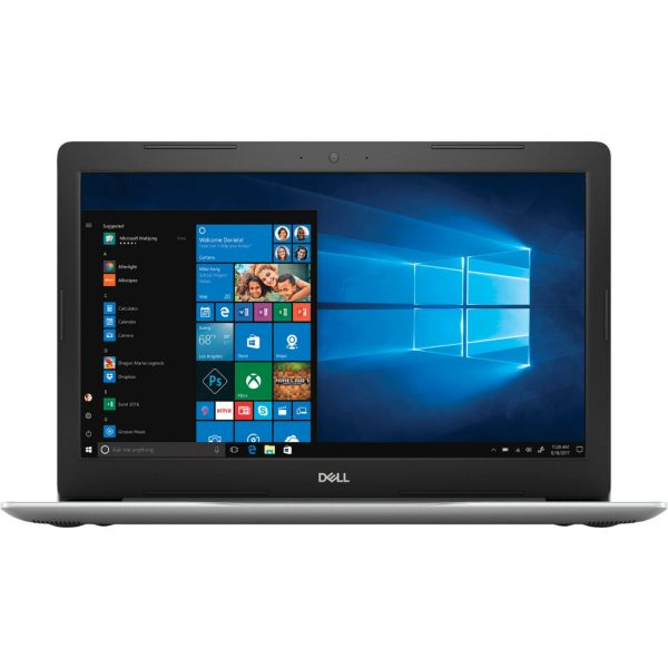 """Front Zoom. Dell - Geek Squad Certified Refurbished Inspiron 15.6"""" Touch-Screen Laptop - Intel Core i7 - 12GB Memory - 256GB SSD - Silver."""