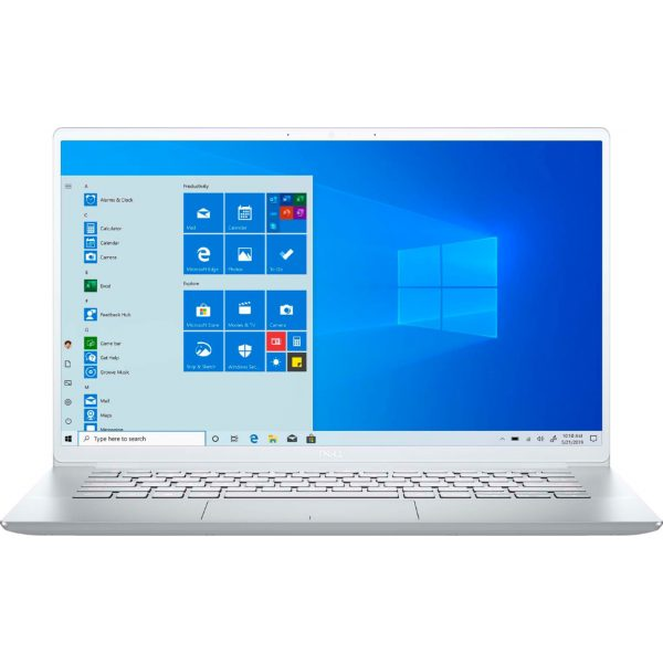 """Front Zoom. Dell - Inspiron 14 7000 - 14"""" FHD Laptop - Intel Core i7 - 8GB Memory - 512 GB SSD - Silver."""