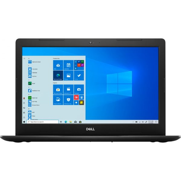 """Front Zoom. Dell - Inspiron 15 3593- 15.6"""" HD Touch Screen Laptop - Intel Core i7 - 12GB Memory - 512GB SSD - Black."""