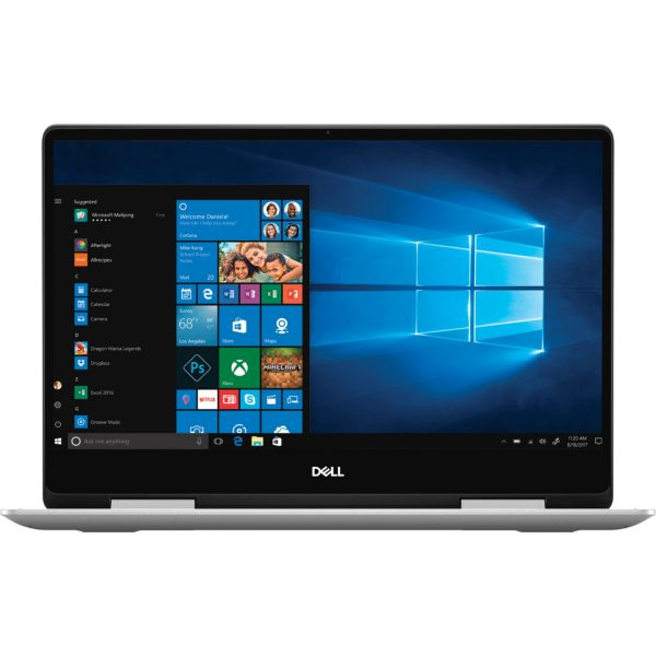 "Dell - Inspiron 2-in-1 13.3"" Geek Squad Certified Refurbished Touch-Screen Laptop - Intel Core i5 - 8GB Memory - 256GB SSD - Silver"