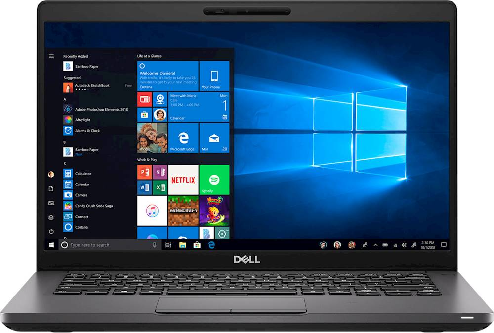 "Front Zoom. Dell - Latitude 14"" Laptop - Intel Core i7 - 16GB Memory - 512GB SSD."