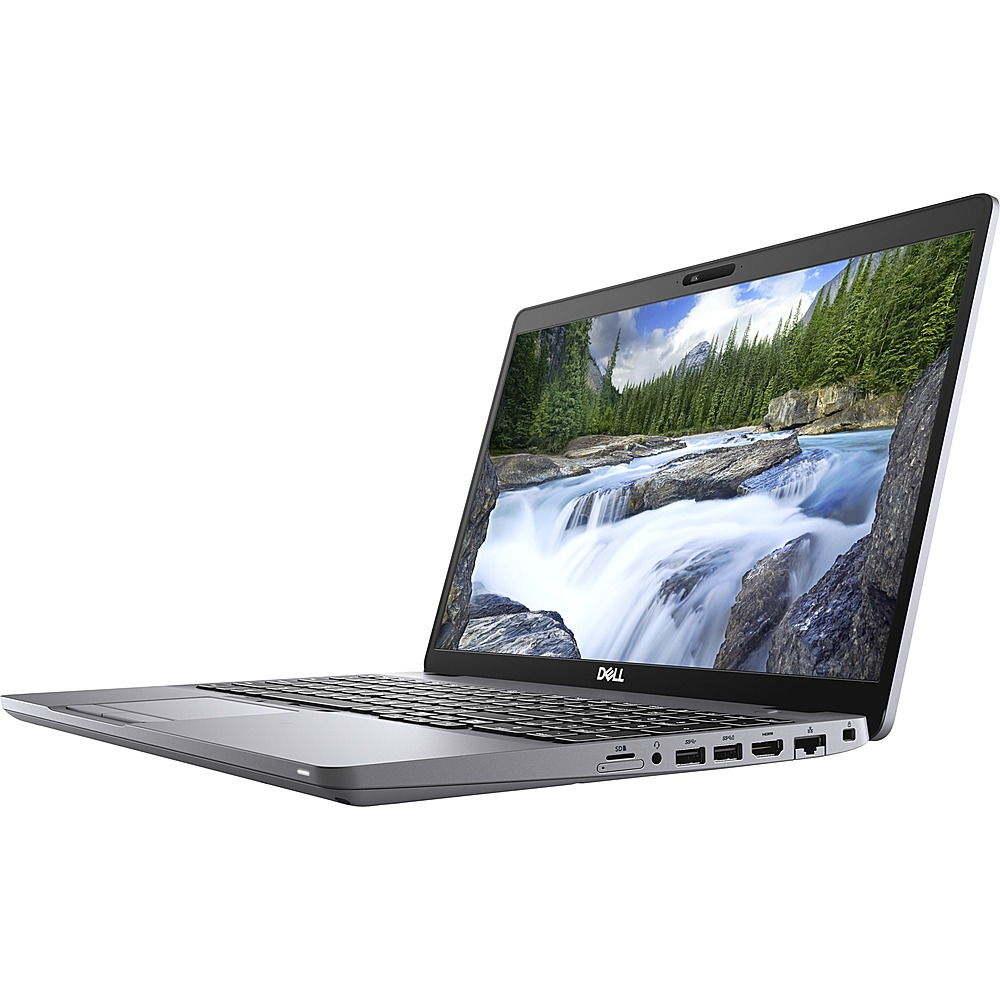 "Front Zoom. Dell - Latitude 5000 15.6"" Laptop - Intel Core i5 - 8 GB Memory - 256 GB SSD - Gray."