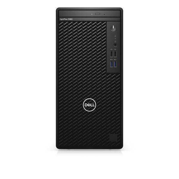 Front Zoom. Dell - OptiPlex 3080 Desktop - i5 - 8GB - 1TB HDD - Keyboard and Mouse.