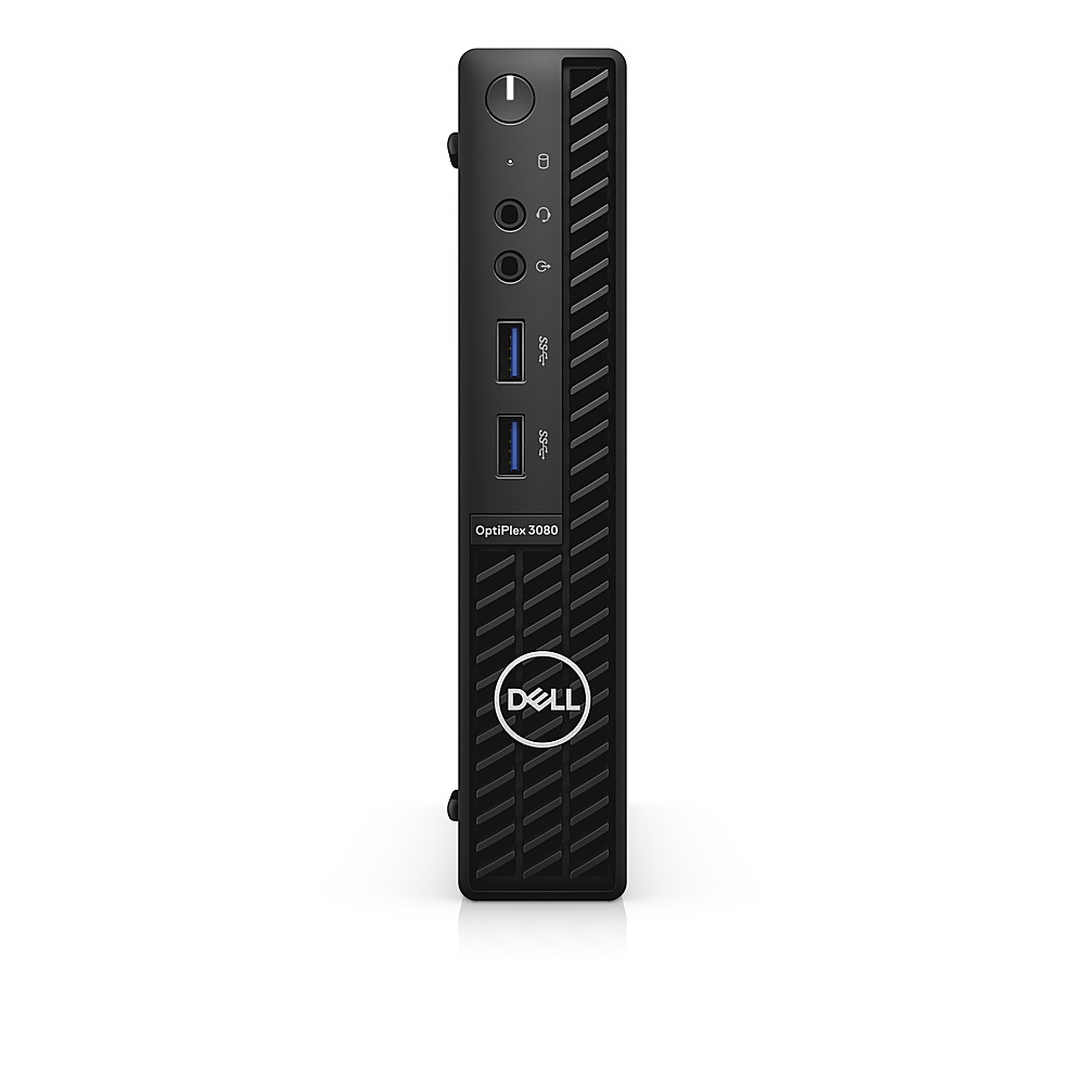 Front Zoom. Dell - OptiPlex 3080 Micro PC - i5 -10500T - 8GB - 256GB SSD - Keyboard and Mouse.