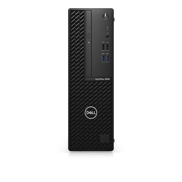 Front Zoom. Dell - OptiPlex 3080 SFF PC - i5 -10500 - 8GB - 256GB SSD - Keyboard and Mouse.