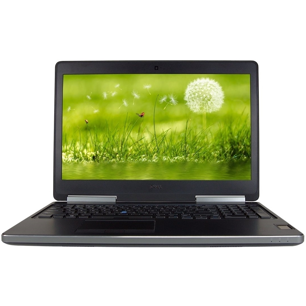 "Front Zoom. Dell - Precision Mobile Workstation 15.6"" Refurbished Laptop - Intel Core i7 - 16GB Memory - 512GB SSD - Black."
