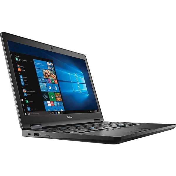 """Angle Zoom. Dell - Refurbished Latitude 5590 15.6"""" Laptop - Intel Core i5 - 16GB Memory - 512GB Solid State Drive."""