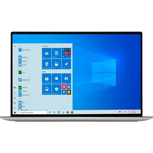 """Dell - XPS 13.4"""" FHD+ Touch Laptop - Engineered for Mobile Performance - Intel Core i7 - 8GB Memory - 512GB SSD - Platinum Silver"""