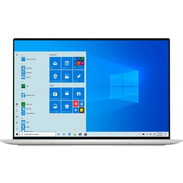 """Dell - XPS 13.4"""" UHD+ Touch Laptop -Engineered for Mobile Performance - Intel Core i7 - 16GB Memory - 512GB SSD - Frost White"""