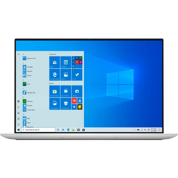 """Dell - XPS 15.6"""" UHD+ Touch Laptop - Intel Core i7 - 16GB Memory - 512GB SSD - NVIDIA GeForce GTX 1650 Ti - White"""