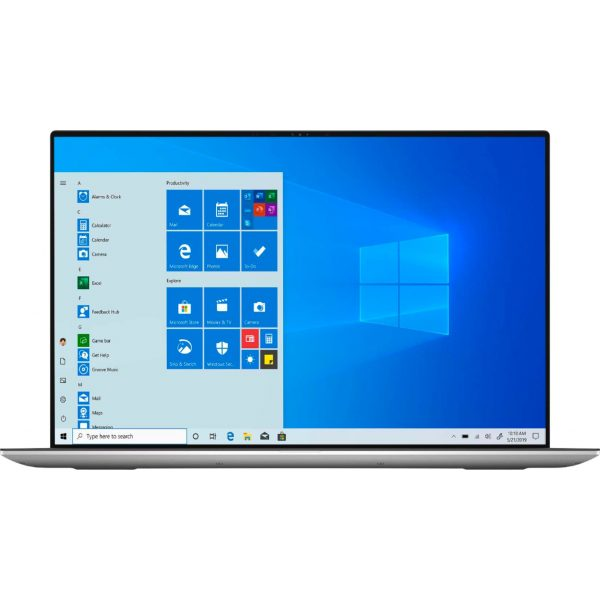 """Dell - XPS 17"""" UHD+ Touch Laptop - Intel Core i7 - 16GB Memory - 1TB SSD - NVIDIA GeForce RTX 2060 - Silver cover, black interior"""