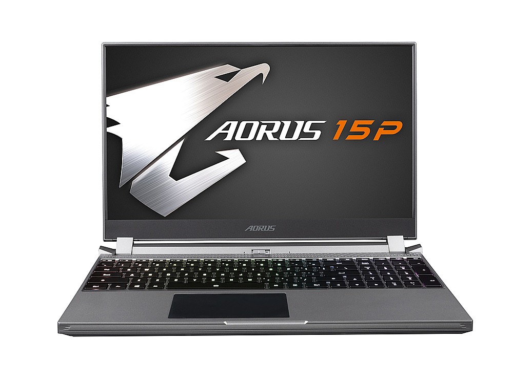"Front Zoom. GIGABYTE - 15.6"" FHD Gaming Laptop - Intel Core i7 - 16GB Memory - NVIDIA GeForce RTX 2070 Max-Q - 512GB  SSD."