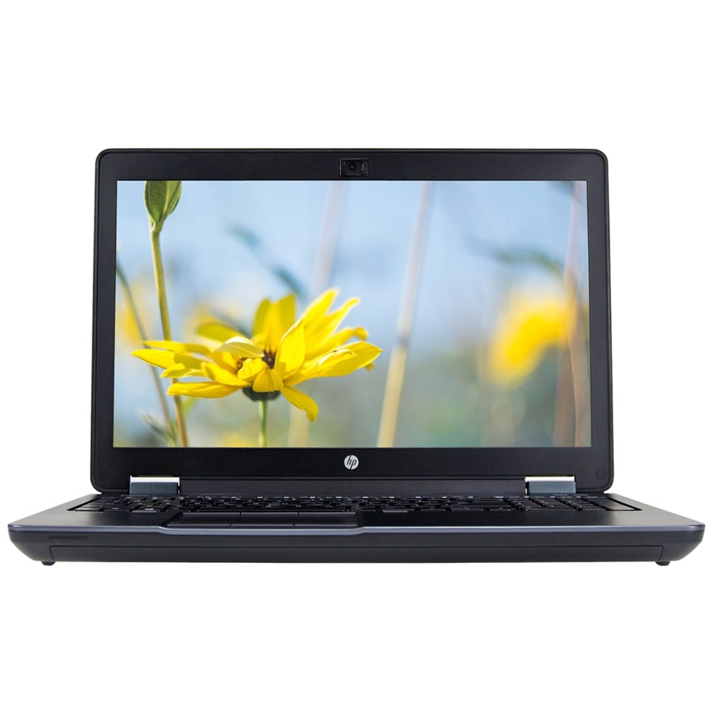 """Front Zoom. HP - 15.6"""" Refurbished Laptop - Intel Core i7 - 16GB Memory - 512GB Solid State Drive - Black."""