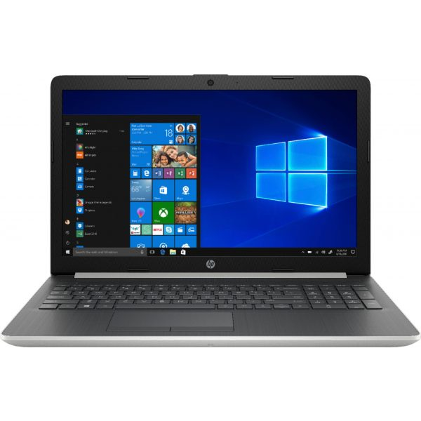 """HP - 15.6"""" Touch-Screen Laptop - Core i7 - 12GB Memory - 512GB SSD - Natural silver"""
