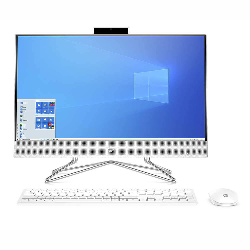"""Front Zoom. HP - 23.8"""" Touch-Screen All -In-One - Intel Core i7-1065G7 - 16GB, 512GB SSD."""