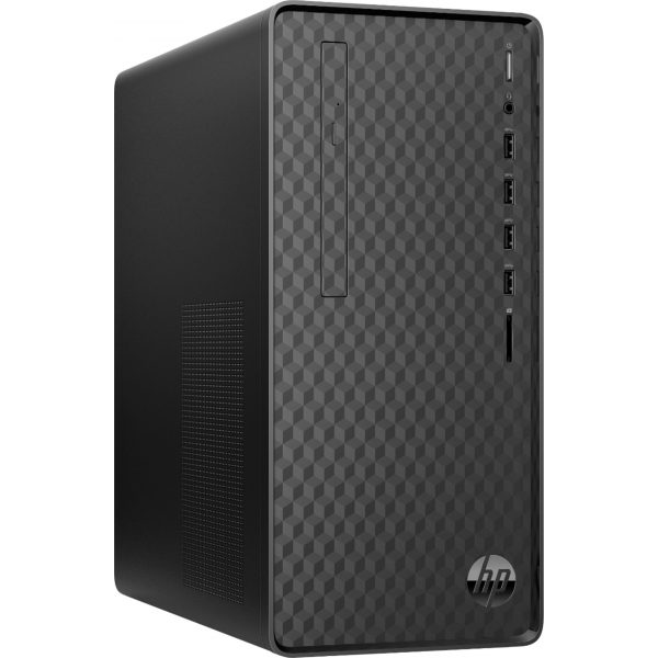 Front Zoom. HP - Desktop - AMD Ryzen 5-Series - 12GB Memory - 256GB Solid State Drive - Jet Black.