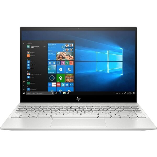 """HP - Envy 13.3"""" Touch-Screen Laptop - Intel Core i7 - 8GB Memory - 512GB SSD - Natural Silver, Sandblasted Anodized Finish"""