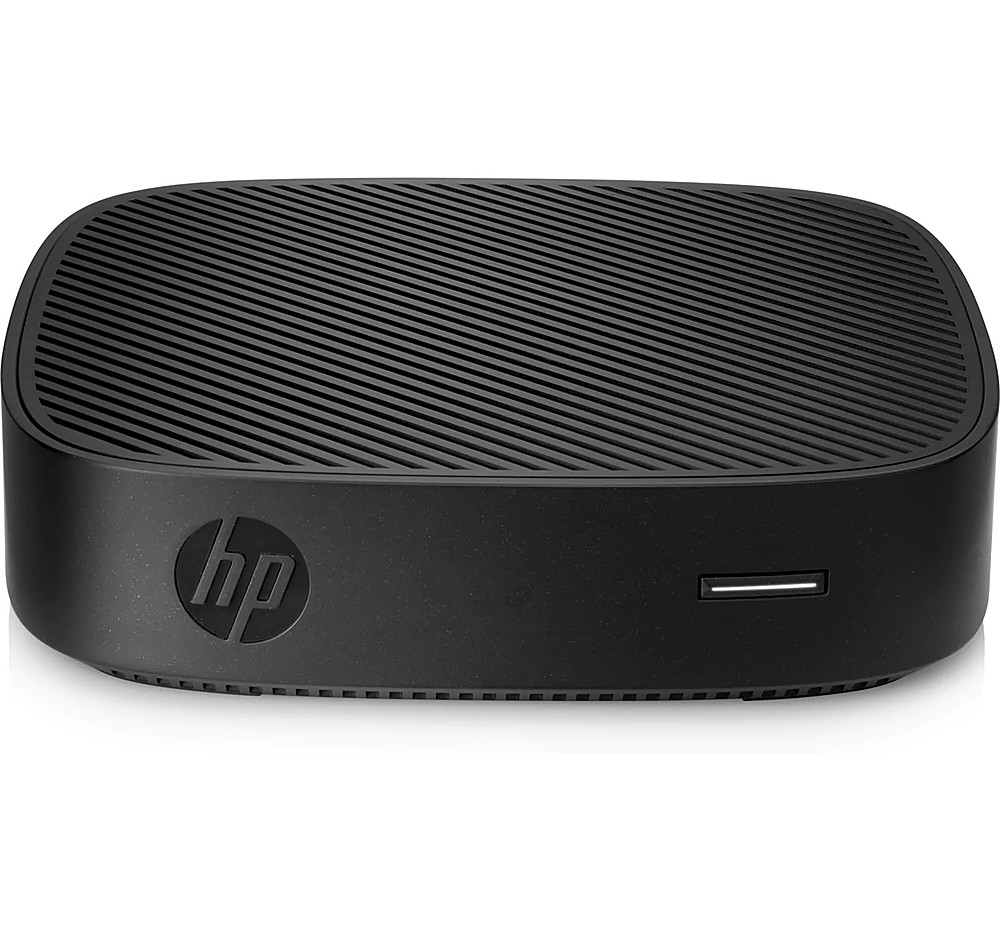Front Zoom. HP - HP t430 Thin Client -Intel® Celeron® N4000 - 2GB Memory - 16GB Flash Storage.