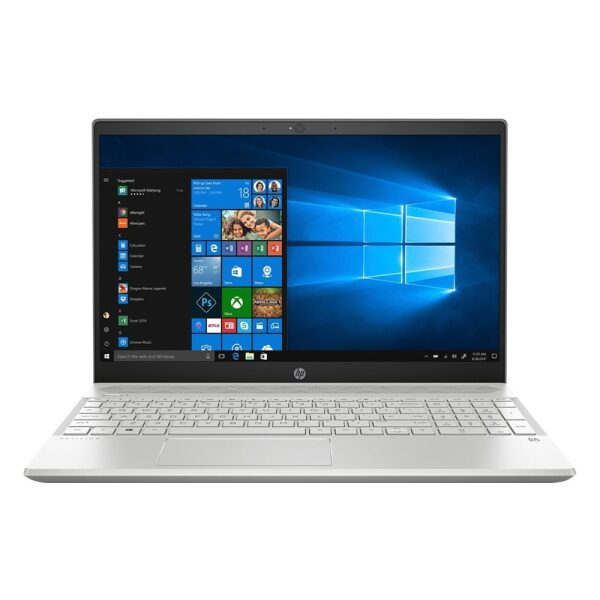 """Front Zoom. HP - Pavilion 15.6"""" Touch-Screen Laptop - Intel Core i3 - 8GB Memory - 1TB Hard Drive - Warm Gold."""