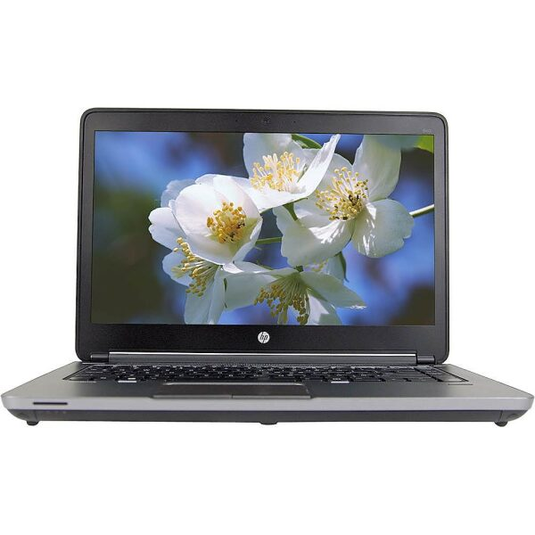 "Front Zoom. HP - ProBook 14"" Laptop - Intel Core i5 - 8GB Memory - 240GB Solid State Drive - Pre-Owned - Black."