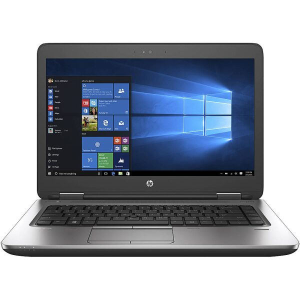 "Front Zoom. HP - ProBook 640 G1 14"" Refurbished Laptop - Intel Core i5 4300M - 8GB Memory - 500GB HDD."