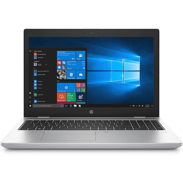 "Front Zoom. HP ProBook 650 G5 Notebook PC - 15.6"" Display - 8 GB RAM - 256 GB SSD."