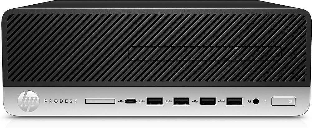 Front Zoom. HP ProDesk 400 G6 Small Form Factor PC - 8 GB Memory - 256 GB SSD.