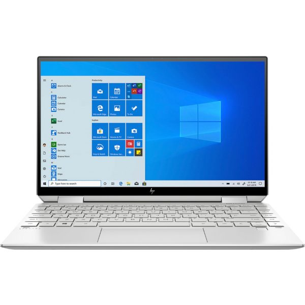 """Front Zoom. HP - Spectre x360 2-in-1 13.3"""" 4K Ultra HD Touch-Screen Laptop - Intel Core i5 - 8GB Memory - 256GB SSD - Natural Silver."""