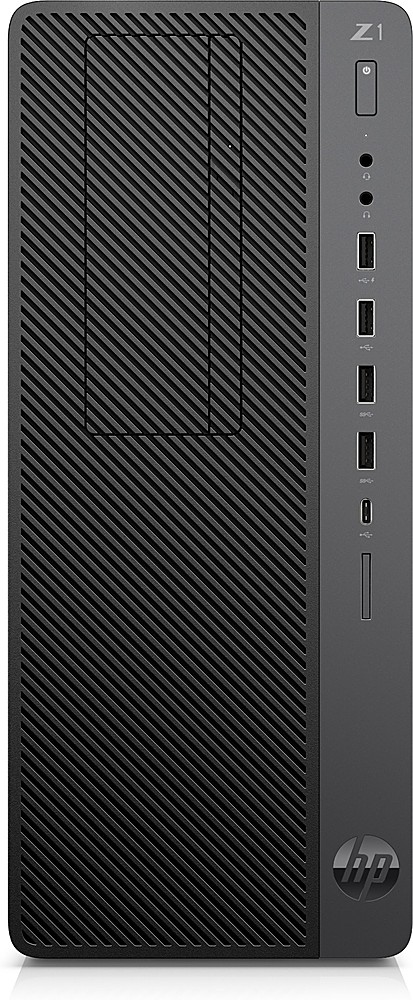 Front Zoom. HP - Z1 Entry Tower G5 -Intel Xeon W - 16GB Memory -512GB SSD Storage.