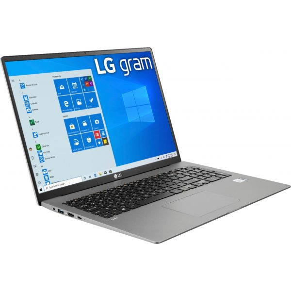 "LG - gram 17"" Laptop – 11th Gen Intel Core i7 - 16GB Memory - 2TB SSD - Silver"