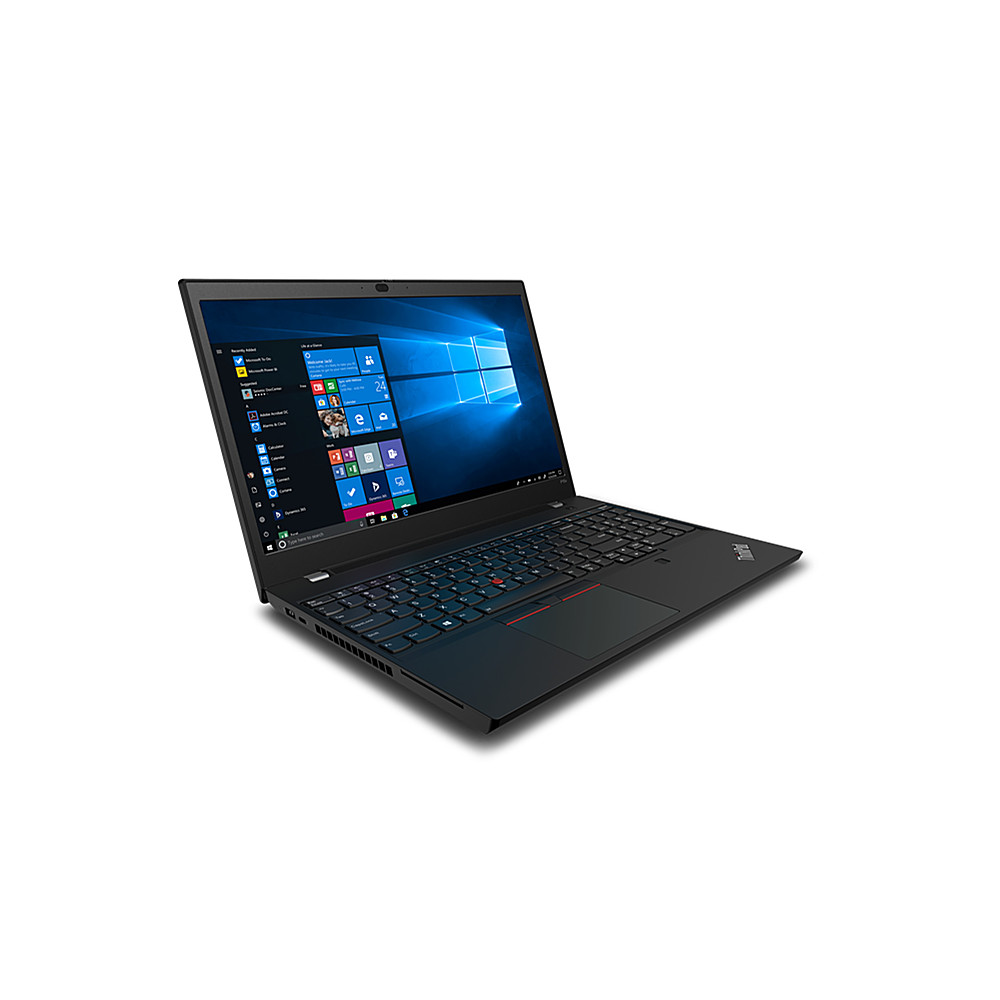 "Alt View Zoom 11. Lenovo 15.6"" ThinkPad P15v Gen 1 Mobile WorkStation, Black."