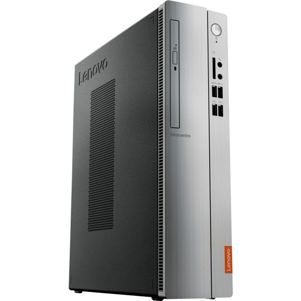 Angle Zoom. Lenovo - IdeaCentre 310S Desktop - AMD A9-Series - 4GB Memory - 1TB Hard Drive - Silver.