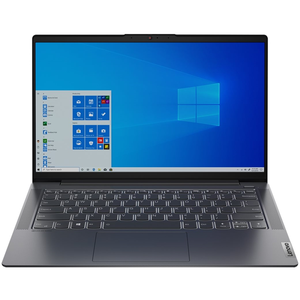"Front Zoom. Lenovo - IdeaPad 5 14IIL05 14"" Laptop - Intel Core i5 - 8GB Memory - 256GB SSD - Graphite Gray."
