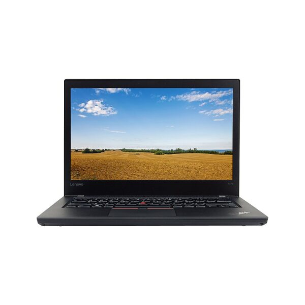 "Front Zoom. Lenovo - ThinkPad T470 14"" Refurbished Laptop - Intel Core i5 6300u - 8GB Memory - 256GB Solid State Drive."