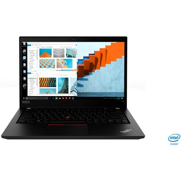 "Front Zoom. Lenovo - ThinkPad T490 14"" Laptop - Intel Core i7 - 8GB Memory - 256GB Solid State Drive - Black."