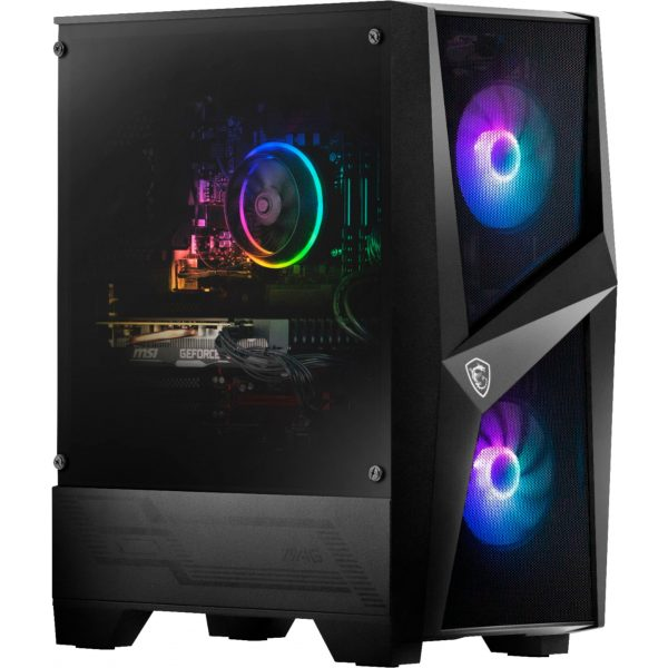 Front Zoom. MSI - Codex R Gaming Desktop - Intel Core i7-10700F - 16GB Memory - NVIDIA GeForce RTX 2060 - 512GB SSD - Black - Black.