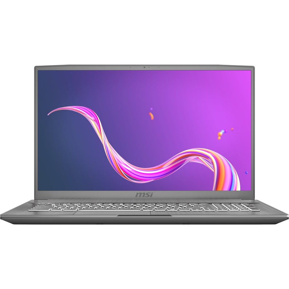 "Front Zoom. MSI - Creator 17M 17.3"" Laptop - Intel Core i7 - 16GB Memory - NVIDIA GeForce RTX 2060 - 1TB SSD - Silver Gray."