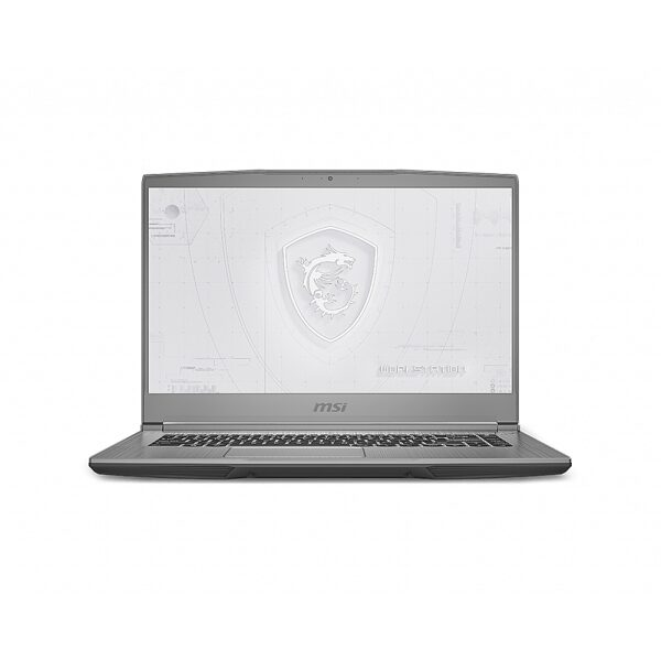 """Front Zoom. MSI WF65443 15.6"""" Gaming Mobile Workstation."""