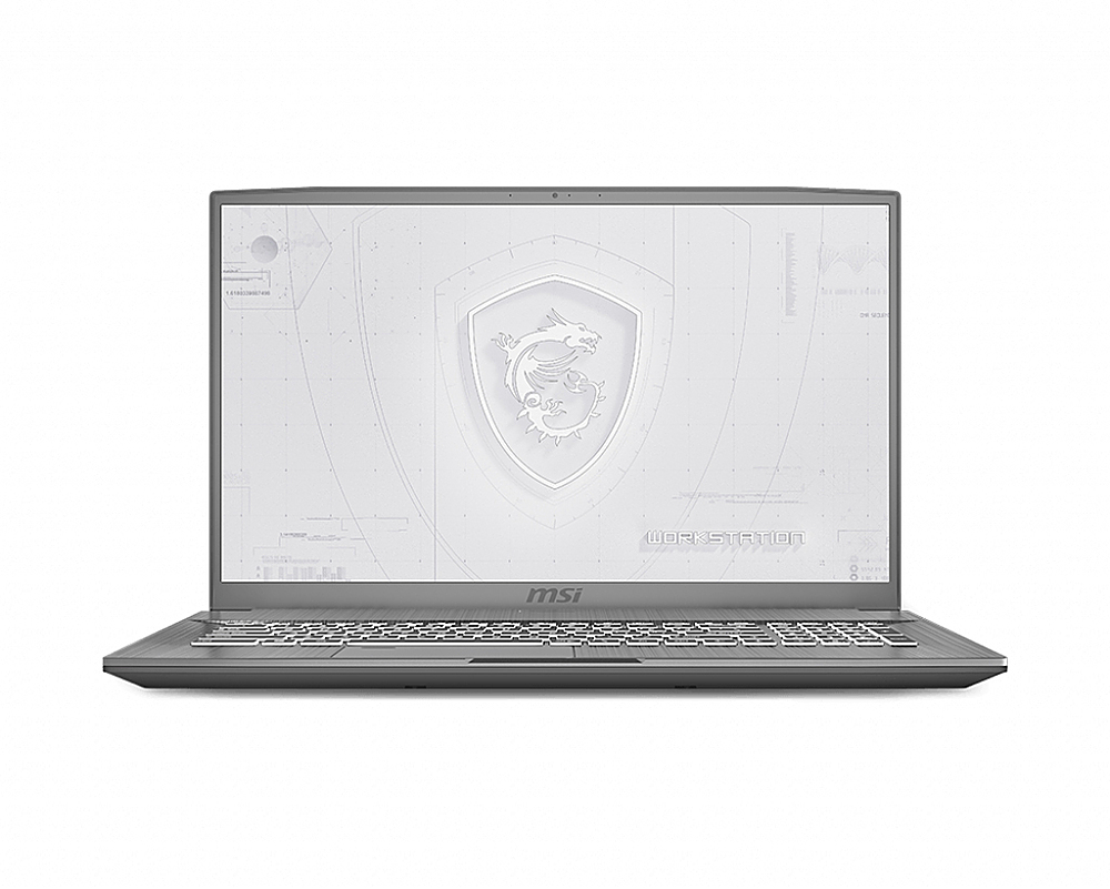 "Front Zoom. MSI WF75250 17.3""Gaming Mobile Workstation."
