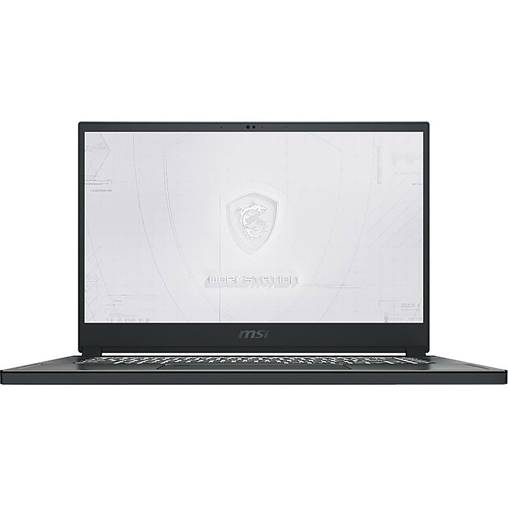 """Front Zoom. MSI  WS75469 17.3"""" Gaming Mobile Workstation."""