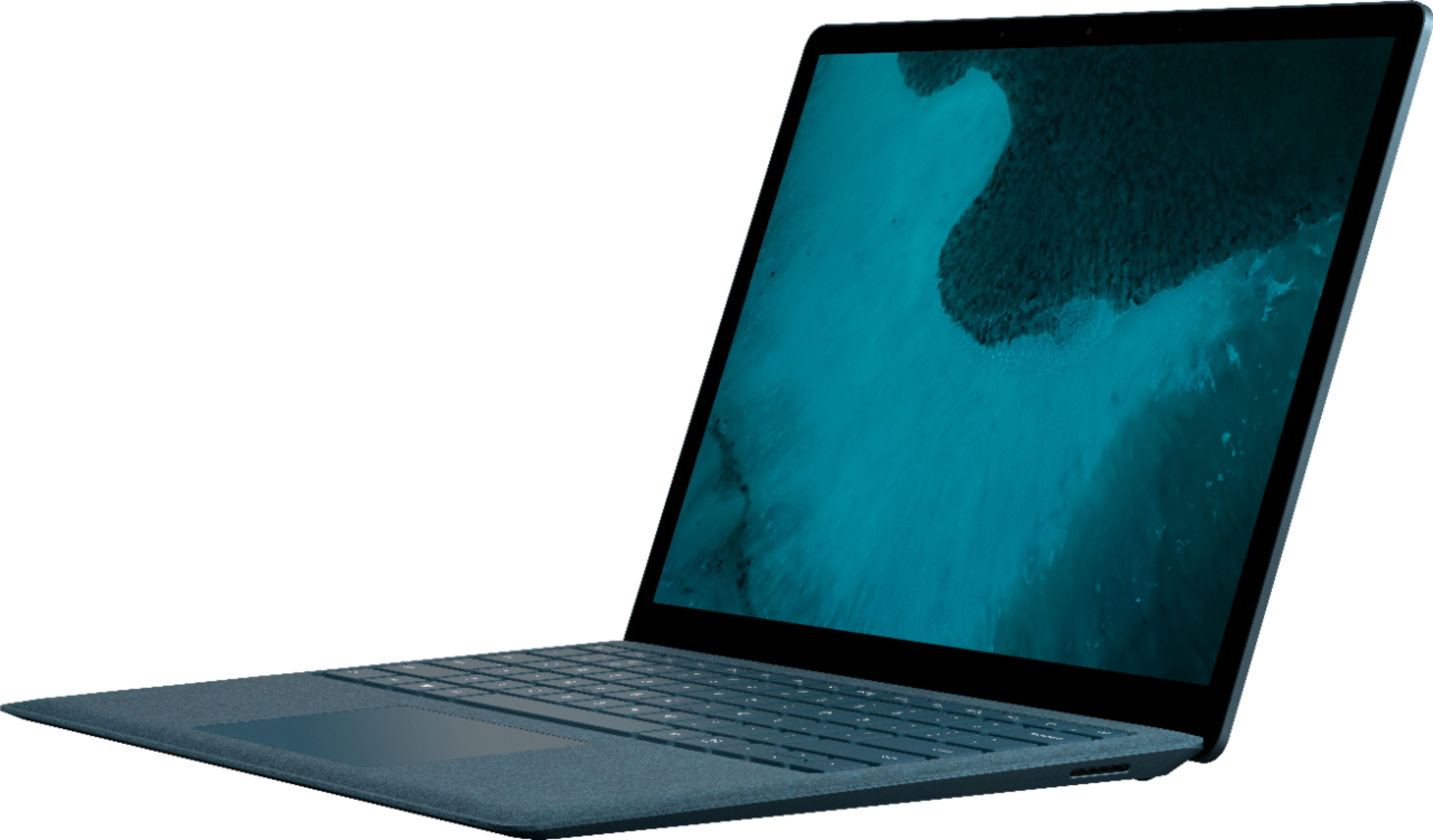 """Front Zoom. Microsoft - Geek Squad Certified Refurbished Surface Laptop 2 - 13.5"""" Touch Screen - Intel Core i5 - 8GB - 256GB SSD - Cobalt Blue."""
