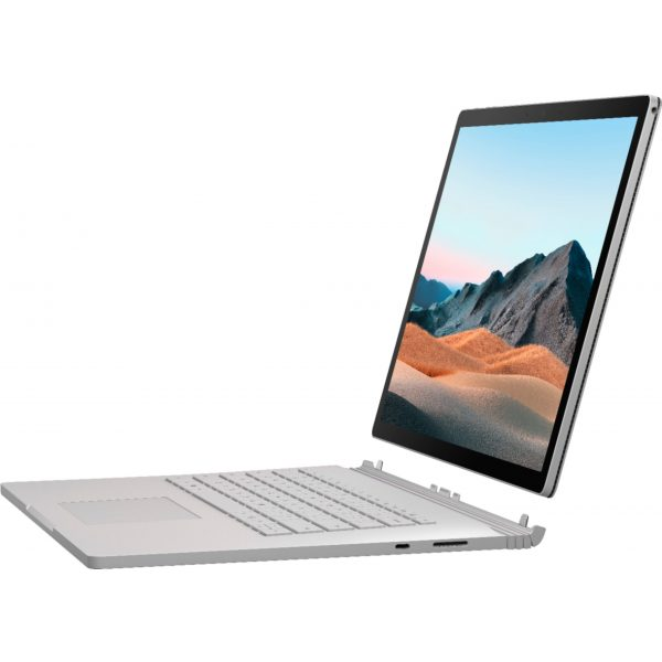 """Microsoft - Surface Book 3 15"""" Touch-Screen PixelSense™ - 2-in-1 Laptop - Intel Core i7 - 32GB Memory - 512GB SSD - Platinum"""