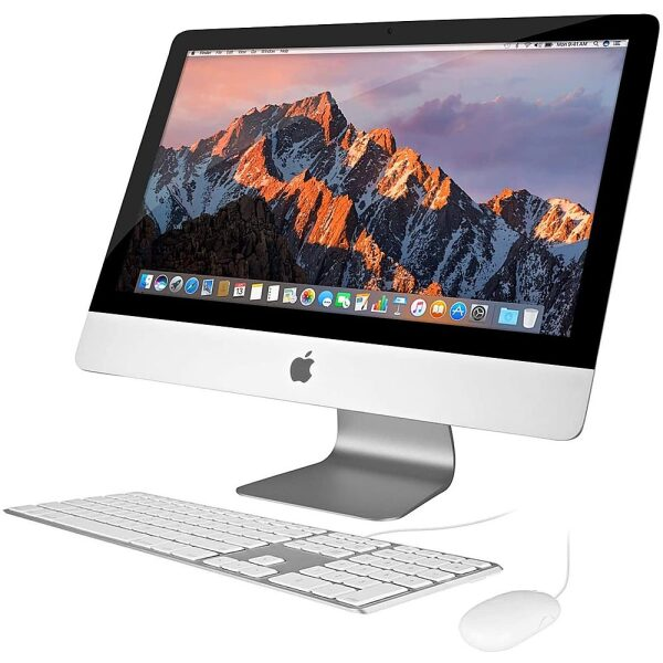 "Front Zoom. Pre-Owned Apple - 27"" iMac - Intel Core i5 (3.2GHz) - 8GB Memory - 1TB Hard Drive - Silver."