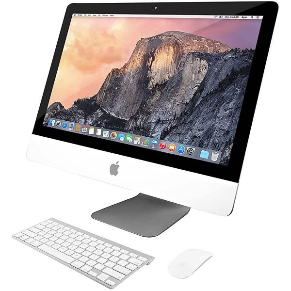 """Front Zoom. Pre-Owned - Apple iMac 21.5-Inch Desktop  """"Core i5"""" 1.4GHz (Mid-2014)  - 8GB Memory - 500GB HDD."""