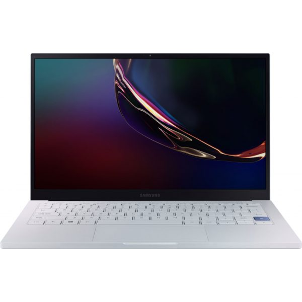 "Front Zoom. Samsung - Galaxy Book Ion 13.3"" Laptop - Intel Core i7 - 8GB Memory - 512GB SSD - Aura Silver."