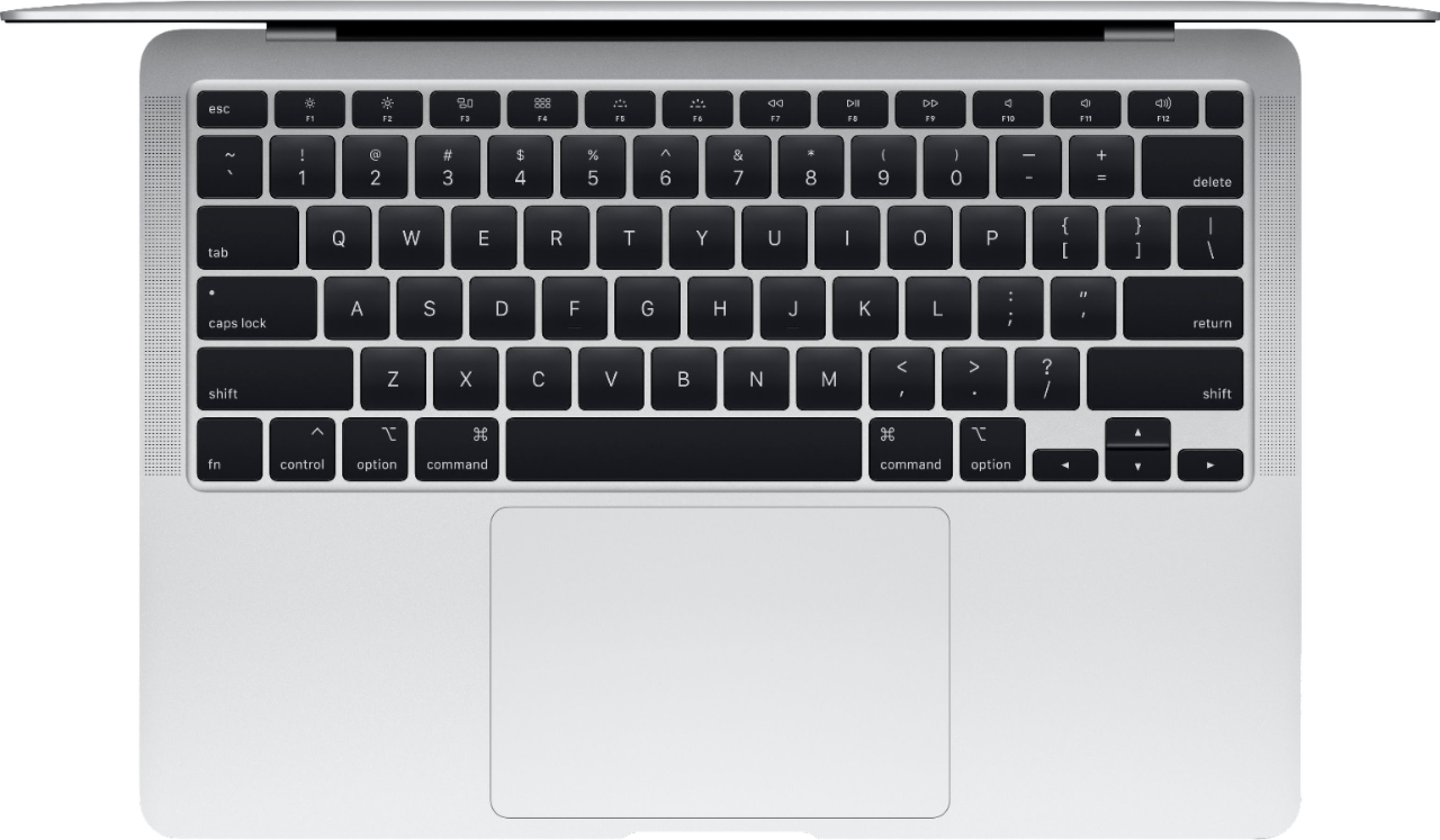 """Alt View Zoom 11. Apple - MacBook Air 13.3"""" Laptop with Touch ID - Intel Core i3 - 8GB Memory - 256GB Solid State Drive - Silver."""